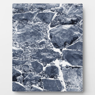 Marble effect plaque