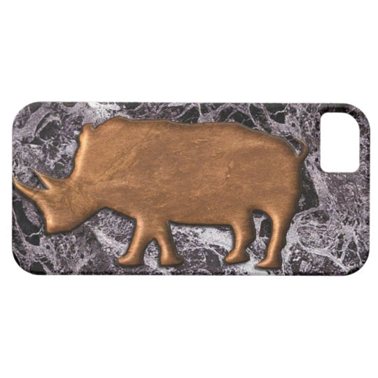 Marble effect White Rhino Iphone case. iPhone 5