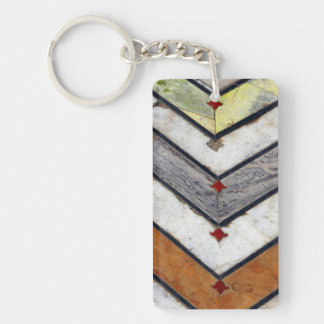 Marble Floor Key Ring