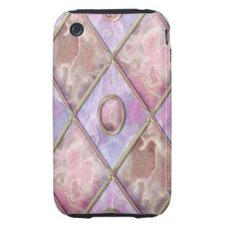 Marble & Glass Argyle iPhone 3 Tough Covers