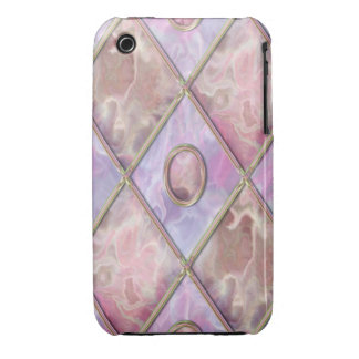 Marble & Glass Argyle iPhone 3 Case-Mate Cases