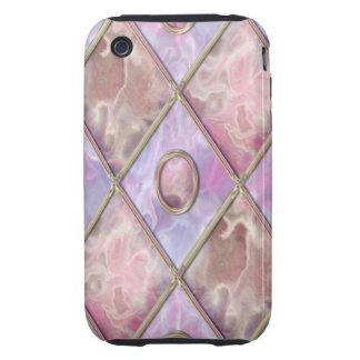 Marble & Glass Argyle iPhone 3 Tough Cases