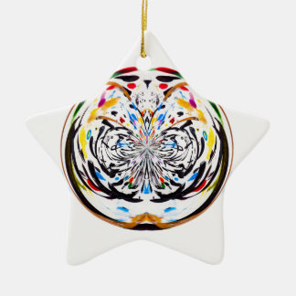 marble globe christmas ornament