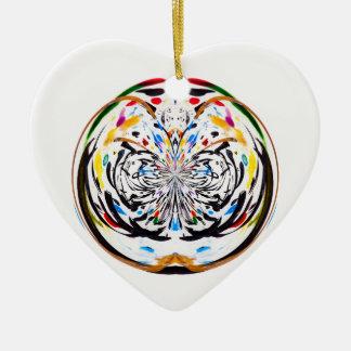 marble globe christmas ornament