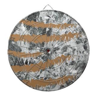 Marble&gold Dartboard