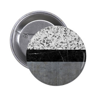 Marble, Granite, and Concrete Abstract 6 Cm Round Badge