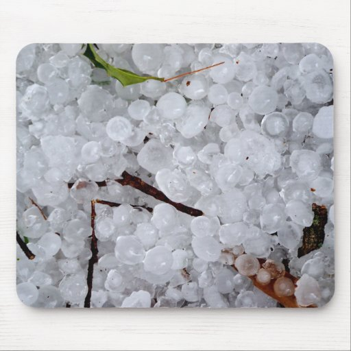 Marble Hail and Debris Mousepad