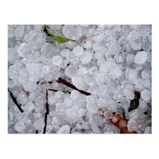 Marble Hail and Debris Postcard