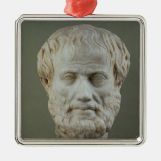 Marble head of Aristotle Christmas Ornament