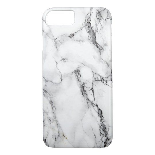 Marble iPhone 7, Barely There Case! iPhone 8/7