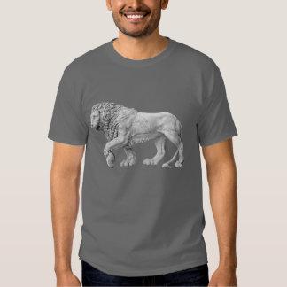 Marble Lion Dark Grey T-Shirt