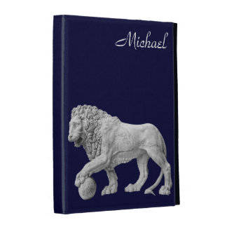 marble Lion iPad Case Template