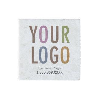 Marble Magnet Custom Business Logo Promotional