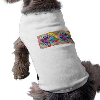 Marble Marvellous Diamond Patterns Sleeveless Dog Shirt