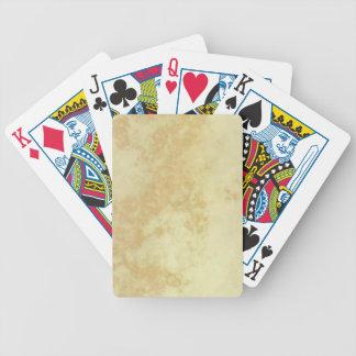 Marble or Granite Textured Bicycle Card Decks