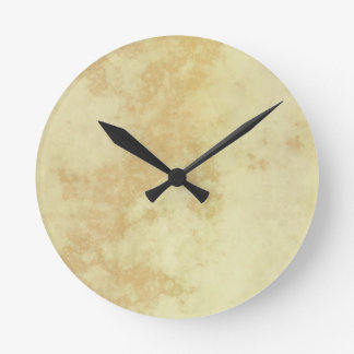 Marble or Granite Textured Wall Clocks
