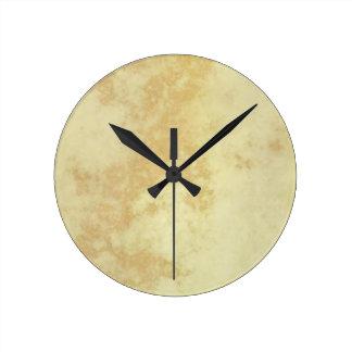 Marble or Granite Textured Wall Clocks