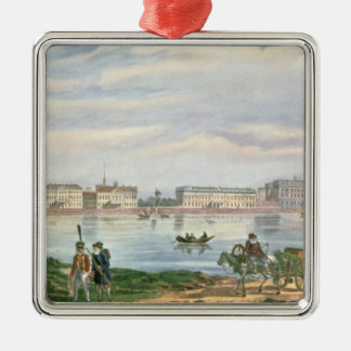 Marble Palace and Neva Embankment St. Christmas Ornament