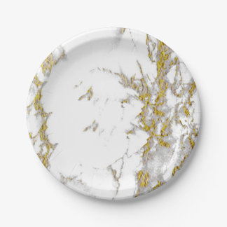 Marble Paper Plate