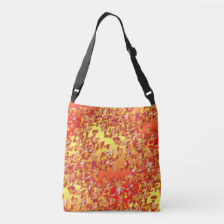 Marble Patch 2 Loose Swirl Cross Body Tote Bag
