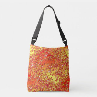 Marble Patch 2 Tight Swirl Cross Body Tote Bag