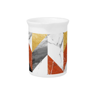 Marble pattern pitcher