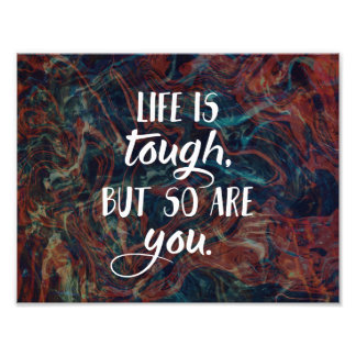 Marble Quote Print, Inspirational Quote Photo Print