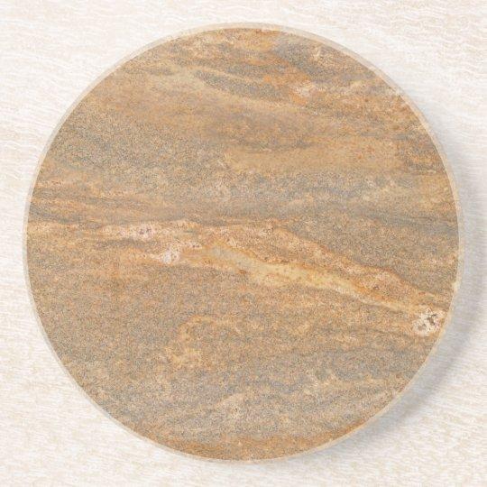 Marble Series--Brown Tan coaster--1 of Many Beverage Coasters