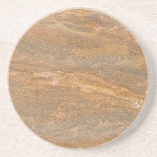 Marble Series--Brown Tan coaster--1 of Many Colors Beverage Coasters