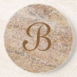 Marble Series--Tan Brn coaster--1 of Many Colours