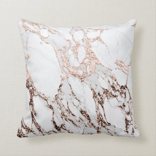 Marble Stone Abstract White Carrara Rose Gold Gray