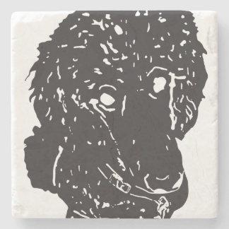 Marble Stone Puppy Coaster