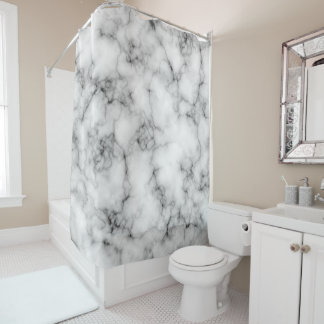 Marble Stone Shower Curtain