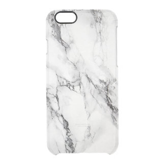 Marble Stone Texture Clear iPhone 6/6S Case