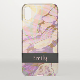 Marble Stone Texture Pattern iPhone X Case