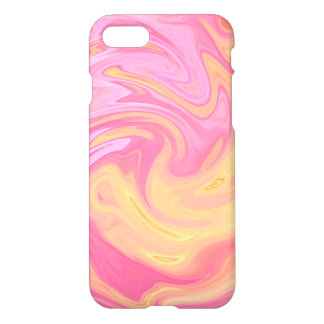 Marble style - peach iPhone 8/7 case