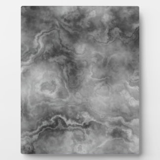 Marble surface plaque
