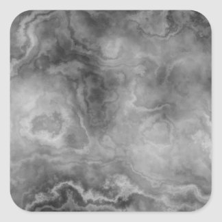 Marble surface square sticker