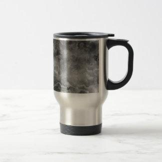 Marble surface travel mug