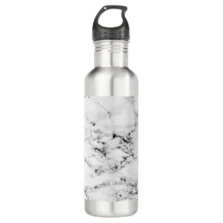 Marble texture 710 ml water bottle