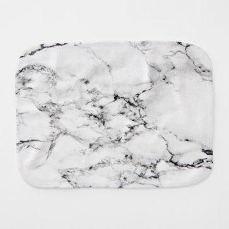Marble texture burp cloth