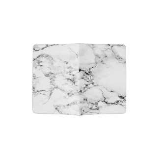 Marble texture passport holder