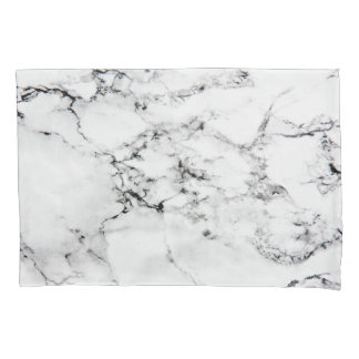 Marble texture pillowcase