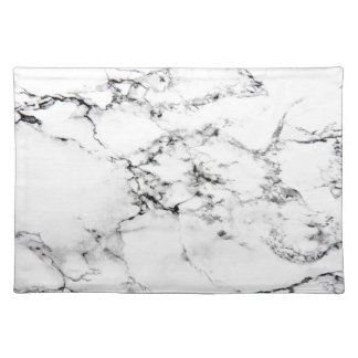 Marble texture placemats