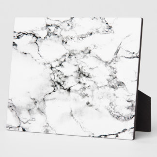 Marble texture plaque
