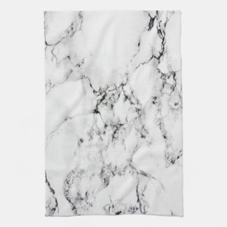 Marble texture tea towel
