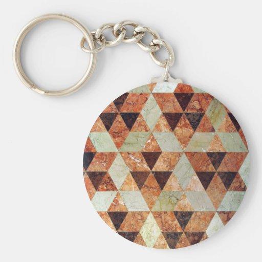 Marble Tiles Keychain