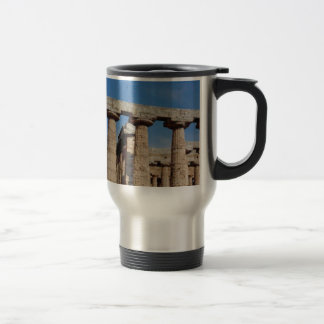 marble towers of ancient Greece Travel Mug