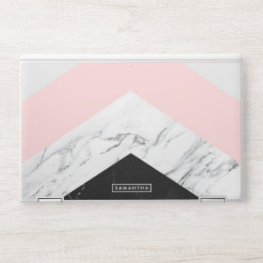 Marble Triangles HP Laptop Skin