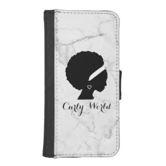 Marble Wallet Case